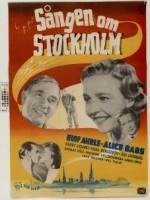 Sången om Stockholm (1947) afişi