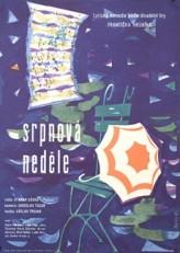 Srpnová nedele (1961) afişi