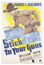 Stick To Your Guns (1941) afişi