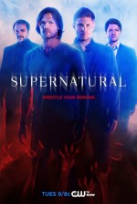 Supernatural Sezon 10 (2014) afişi