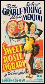 Sweet Rosie O'Grady (1943) afişi