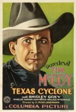 Texas Cyclone (1932) afişi