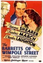 The Barretts Of Wimpole Street (1934) afişi