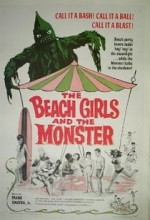 The Beach Girls And The Monster (1965) afişi