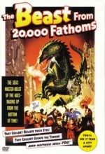 The Beast From 20,000 Fathoms (1953) afişi