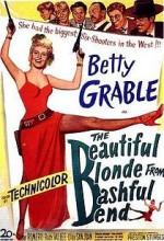 The Beautiful Blonde From Bashful Bend (1949) afişi