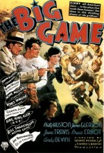 The Big Game (1936) afişi