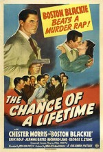 The Chance Of A Lifetime (1943) afişi