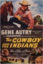The Cowboy And The ındians (1949) afişi
