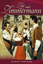 The Czar And The Carpenter (1956) afişi