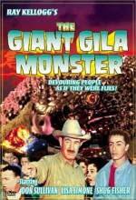 The Giant Gila Monster (1959) afişi