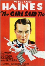The Girl Said No (1930) afişi