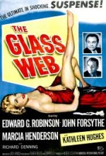 The Glass Web (1953) afişi