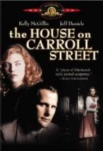 The House on Carroll Street (1988) afişi