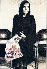 Die Verlorene Ehre Der Katharina Blum (1975) afişi