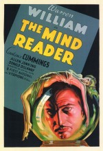 The Mind Reader (1933) afişi