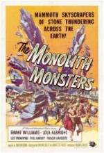 The Monolith Monsters (1957) afişi
