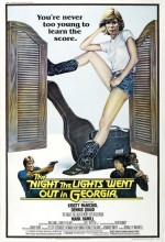 The Night The Lights Went Out In Georgia (1981) afişi