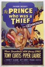 The Prince Who Was A Thief (1951) afişi
