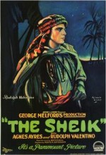 The Sheik (1921) afişi