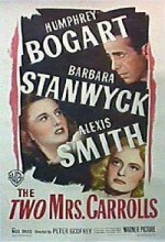 The Two Mrs. Carrolls (1947) afişi