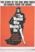The Woman Who Wouldn't Die (1965) afişi