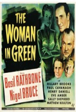 The Woman in Green (1945) afişi