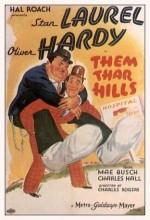 Them Thar Hills (1934) afişi