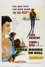 Three Hours To Kill (1954) afişi