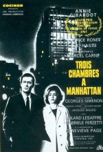 Three Rooms in Manhattan (1965) afişi