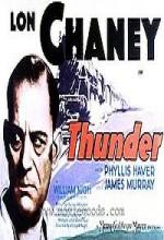 Thunder (1929) afişi