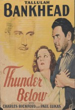 Thunder Below (1932) afişi