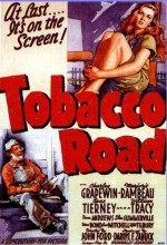 Tobacco Road (1941) afişi