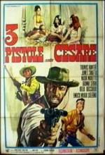 Tre Pistole Contro Cesare (1966) afişi