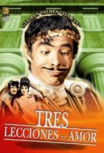 Tres Lecciones De Amor (1959) afişi