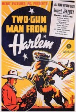 Two-gun Man From Harlem (1938) afişi