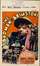 The Bad Man Of Brimstone (1937) afişi