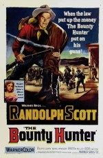 The Bounty Hunter (1954) afişi