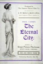 The Eternal City (1915) afişi