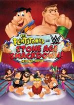 Çakmaktaşlar ve WWE: Smackdown Taş Devri (2015) afişi
