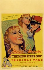 The King Steps Out (1936) afişi