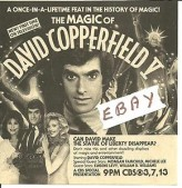 The Magic Of David Copperfield V: The Statue Of Liberty Disappears (1983) afişi