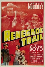 The Renegade Trail (1939) afişi