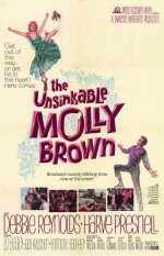 The Unsinkable Molly Brown (1964) afişi