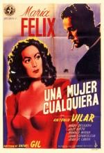 Una Mujer Cualquiera (1949) afişi