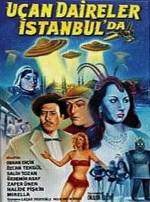 Uçan Daireler İstanbul'da (1955) afişi