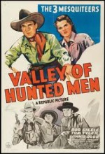 Valley Of Hunted Men (1942) afişi