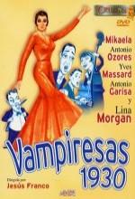 Vampiresas 1930 (1962) afişi