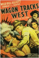 Wagon Tracks West (1943) afişi