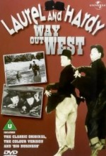 Way Out West (1937) afişi